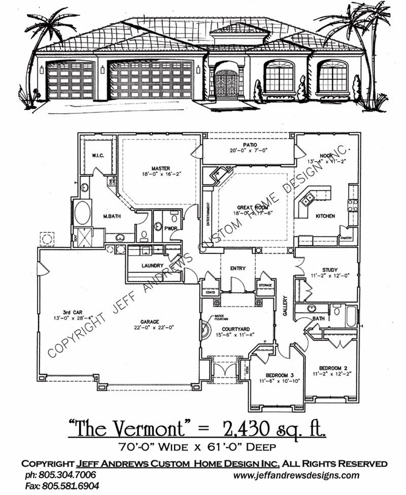 The vermont 2430 00