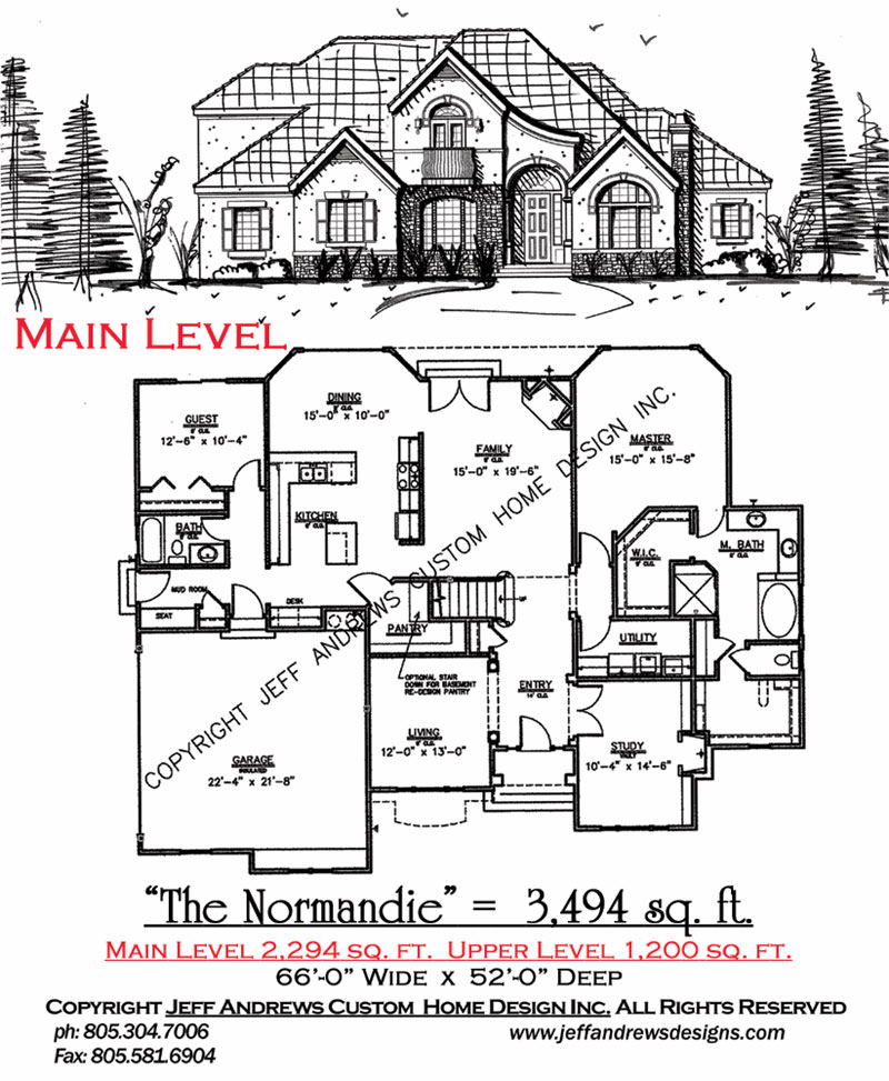 The normandie 3494 00 andrews home design group st george utah