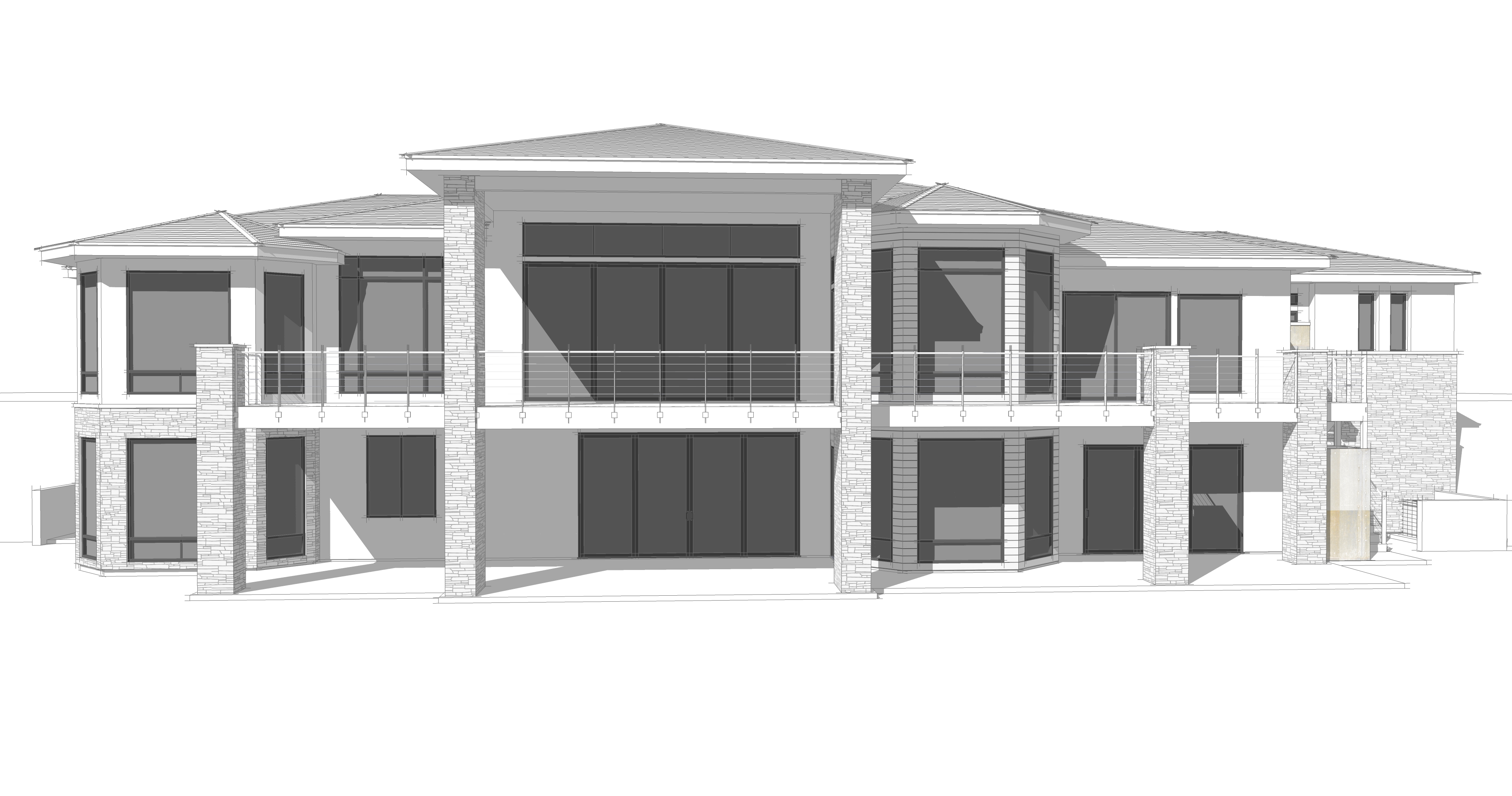 Working on a fun design for the Shaw\'s – Andrews Home Design Group ...